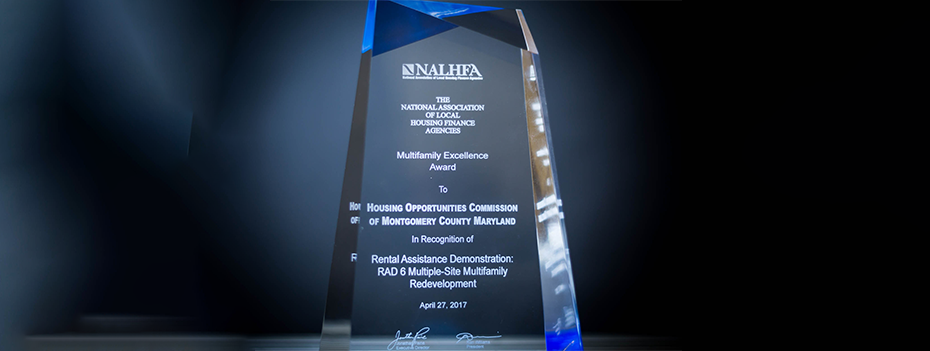 HOC Receives NALHFA Award for RAD 6 Project