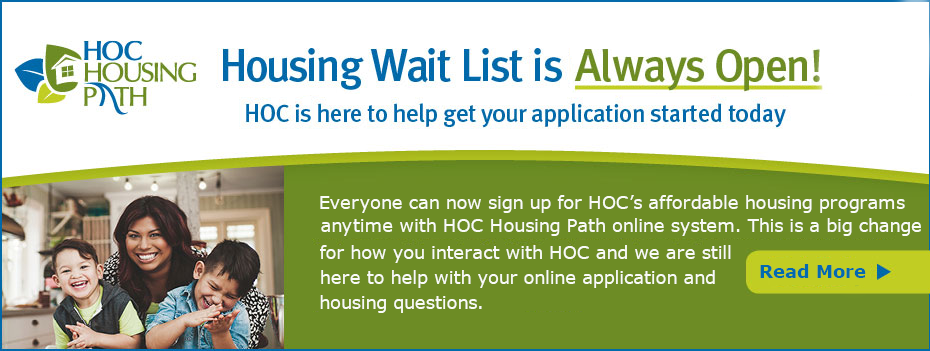 Housing Opportunities Commission - Home